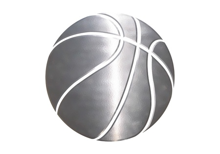 ballons de sport dans un fond blanc