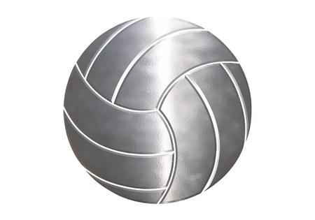 sport balls in white background Stock Photo