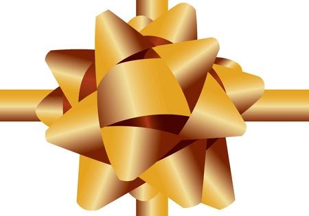 cinta de regalo sobre un fondo blanco