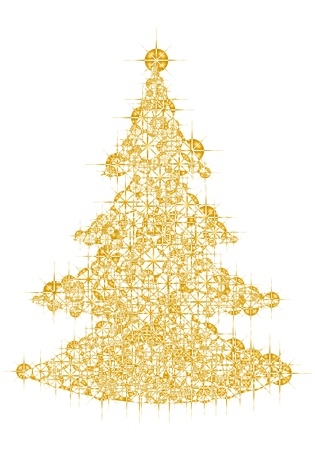 Christmas tree Stock Vector - 11239727