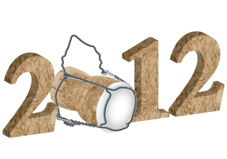 2012 New Year Stock Photo - 11421990
