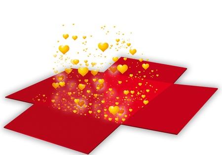 illustration of Valentine illustration
