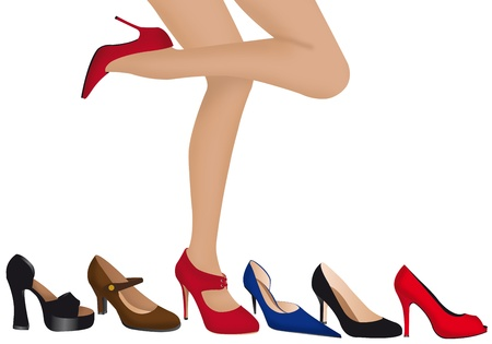 uppers: illustration of women