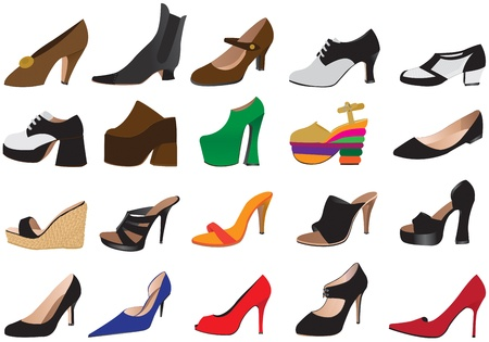 uppers: shoes Stock Photo