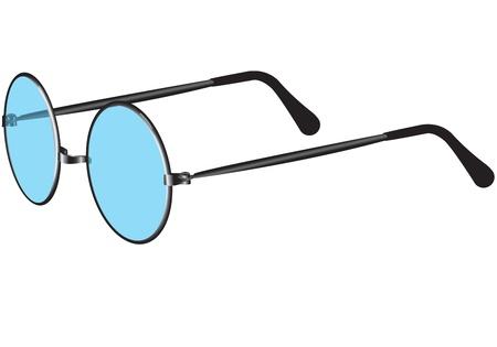 Illustration de lunettes de fond