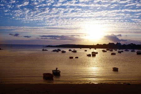 mar paisaje Foto de archivo