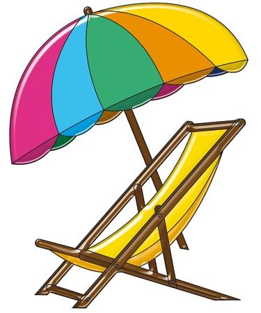 playa caricatura: marioneta original, divertida en el fondo blanco