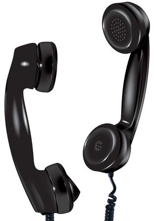 illustration of old kind of telephone Stock Illustration - 20217850