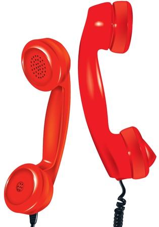 illustration of old kind of telephone illustration