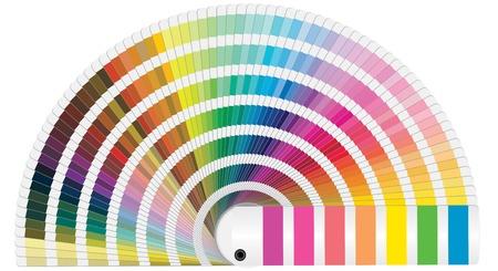 illustration de couleurs Pantone pour imprimer