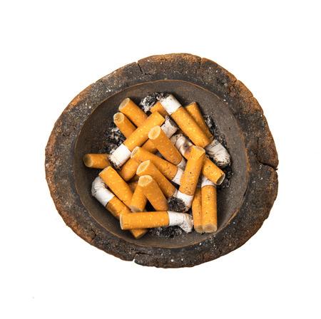 unlit: unlit cigarette in white background