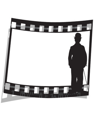 graphic illustration of a movie film