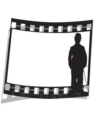 gelatin: graphic illustration of a movie film