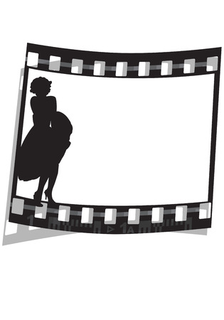 ilustraci�n gr�fica de una pel�cula de cine