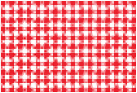 placemat: graphic illustration of a placemat Stock Photo