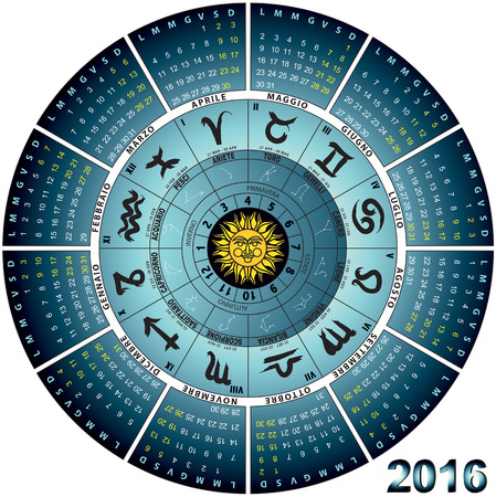 astral: graphic illustration of the Italian wheel astral 2016