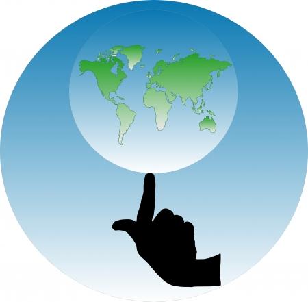World Stock Vector - 6035467