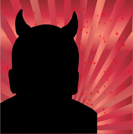 Devil silhouette