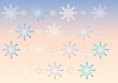 Snowflakes background  Stock Vector - 6781778