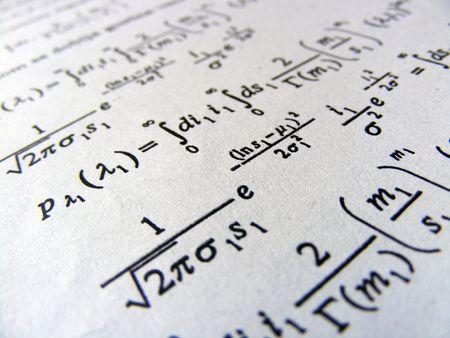 Mathematik-Gleichung