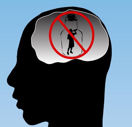 alcoholismo: Detener el acohol