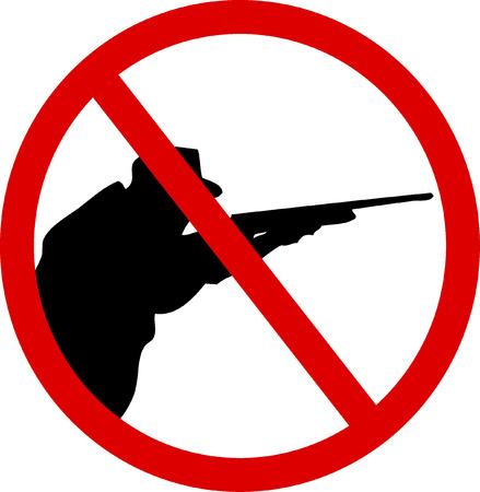 prohibido el paso: No caza