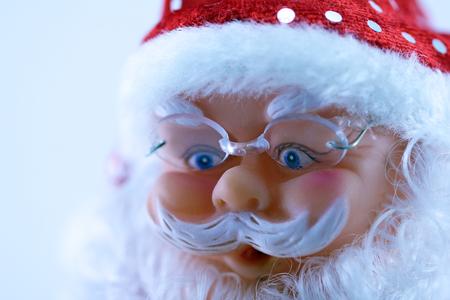 Decorative Santa Claus close up
