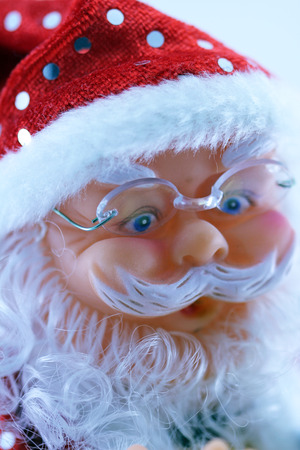 Decorative Santa Claus close up
