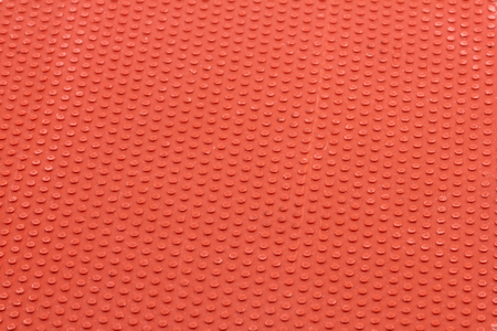 Red rubber background