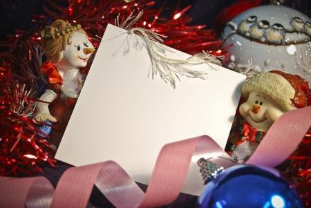 Lista de navidad decora con copia espacio Foto de archivo - 12344251