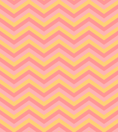 pop art herringbone pattern: Bright beige pink chevron seamless pattern background vector Illustration