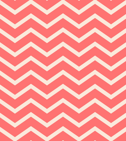 pop art herringbone pattern: Bright red chevron seamless pattern background vector