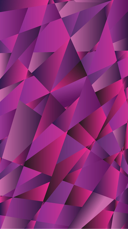 violet background: Abstract triangle violet background. Geometric Vector illustration