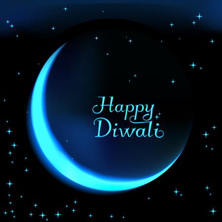 deepawali backdrop: illustration of Diwali for the celebration of Hindu community festival