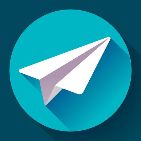 telegrama: Aviones del icono del vector plana estilo de diseño 2.0.