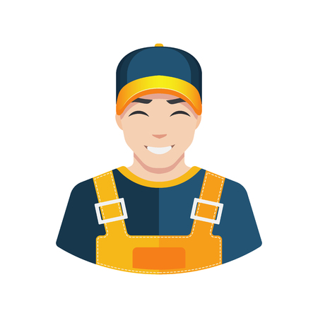 Warehouse worker icon delivery worker icon building worker icon avatar.