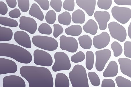 Abstract grey stone pattern, pebbles background texture, vector illustration