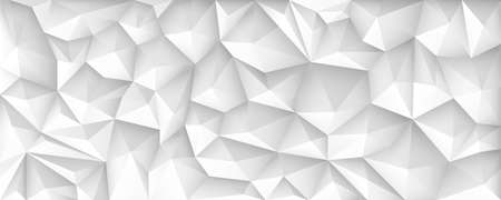 Polygon Abstract Polygonal Geometric Triangle Background, vector illustration wide. Ilustração
