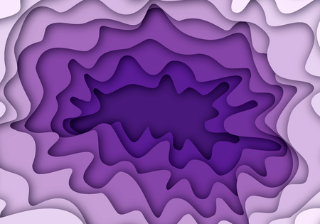 Abstract material blue color, purple background. 3d textured illustration