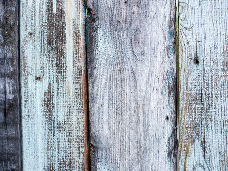 Natural knotted gray weathered wood plank texture background for creativity