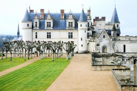 Amboise castle  a place of grave Leonardo da Vinci   photo