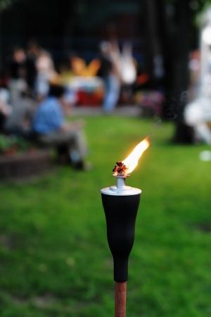 Outdoor Tiki Torch