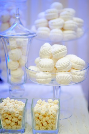 pastila: Stylish sweet table for wedding or event party
