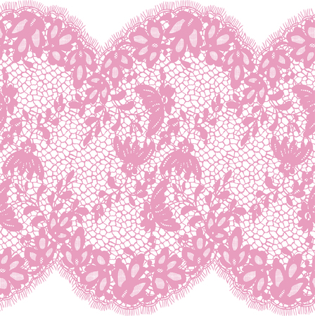 Seamless Vector Pink Pattern