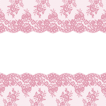 lace pattern: Seamless Vector Pattern Lace Illustration