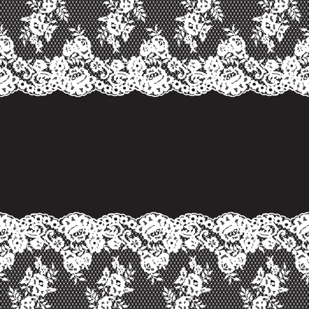 fabric textures: Seamless Vector Pattern Lace Illustration