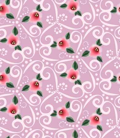 fabric textures: Seamless Vector Ornate Pattern
