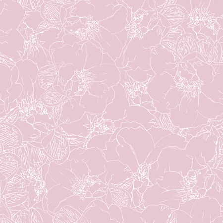 fabric textures: Seamless Vector Abstract Floral Pattern Illustration
