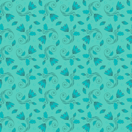 花のパターン ベクトル