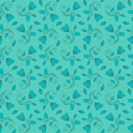 Vecteur de motif floral